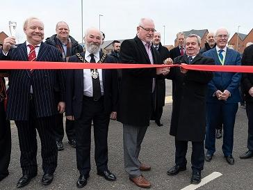 Gateway opened to new green & prosperous Hampshire town