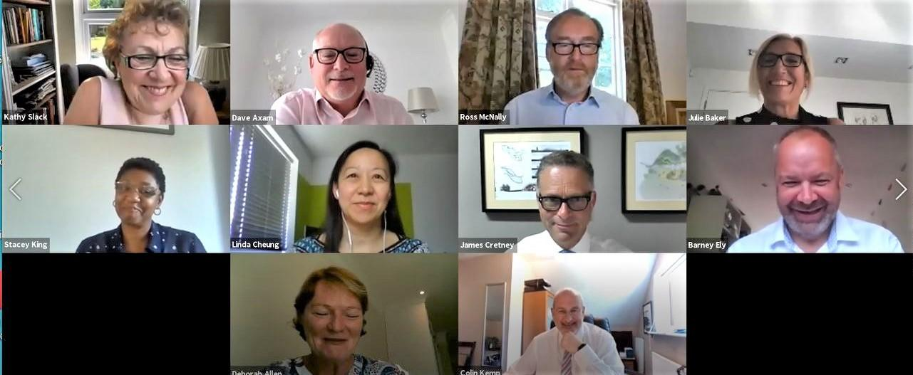 EM3 Board Members took part in an online Q&A at the AGM